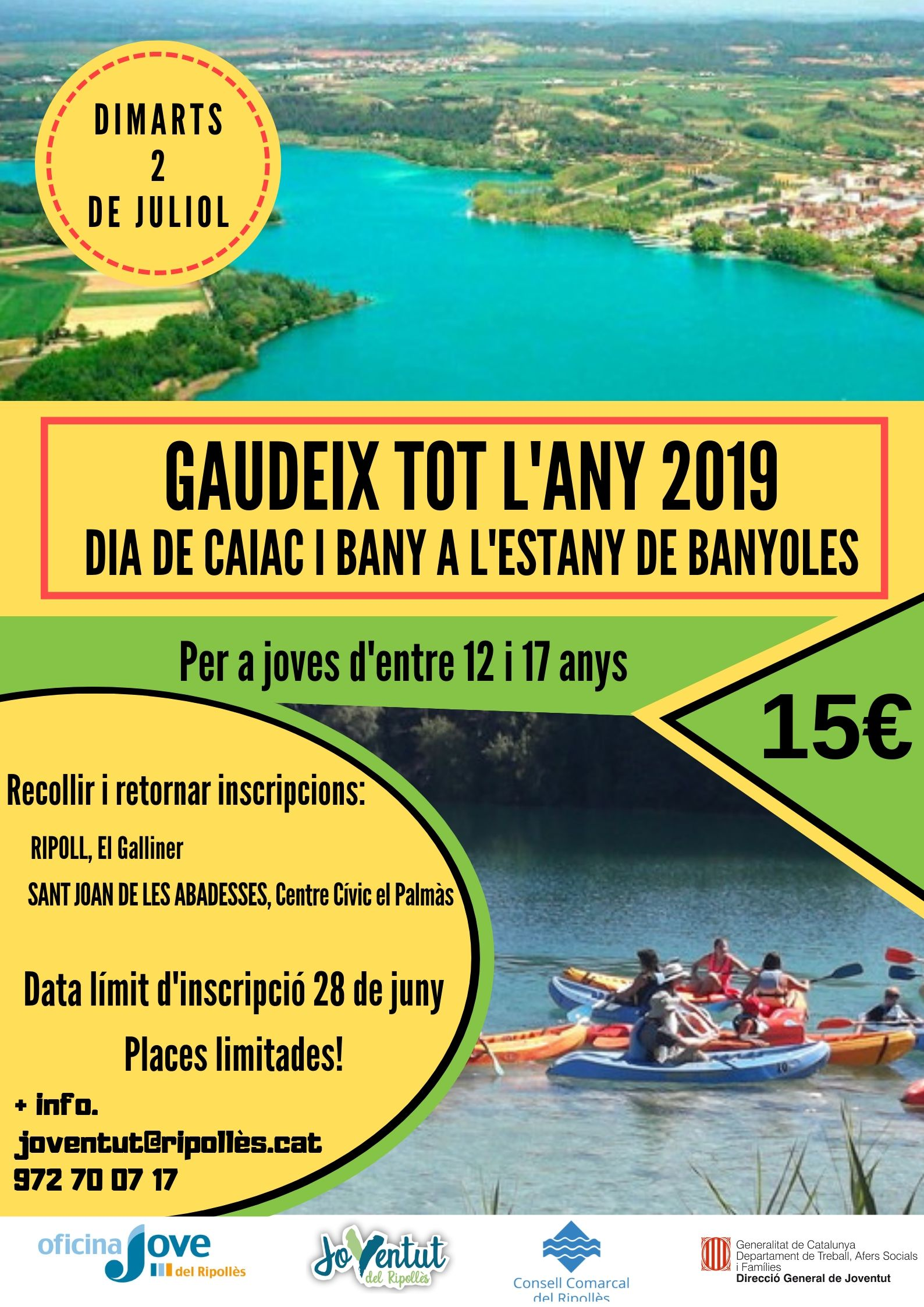 CARTELL BANYOLES