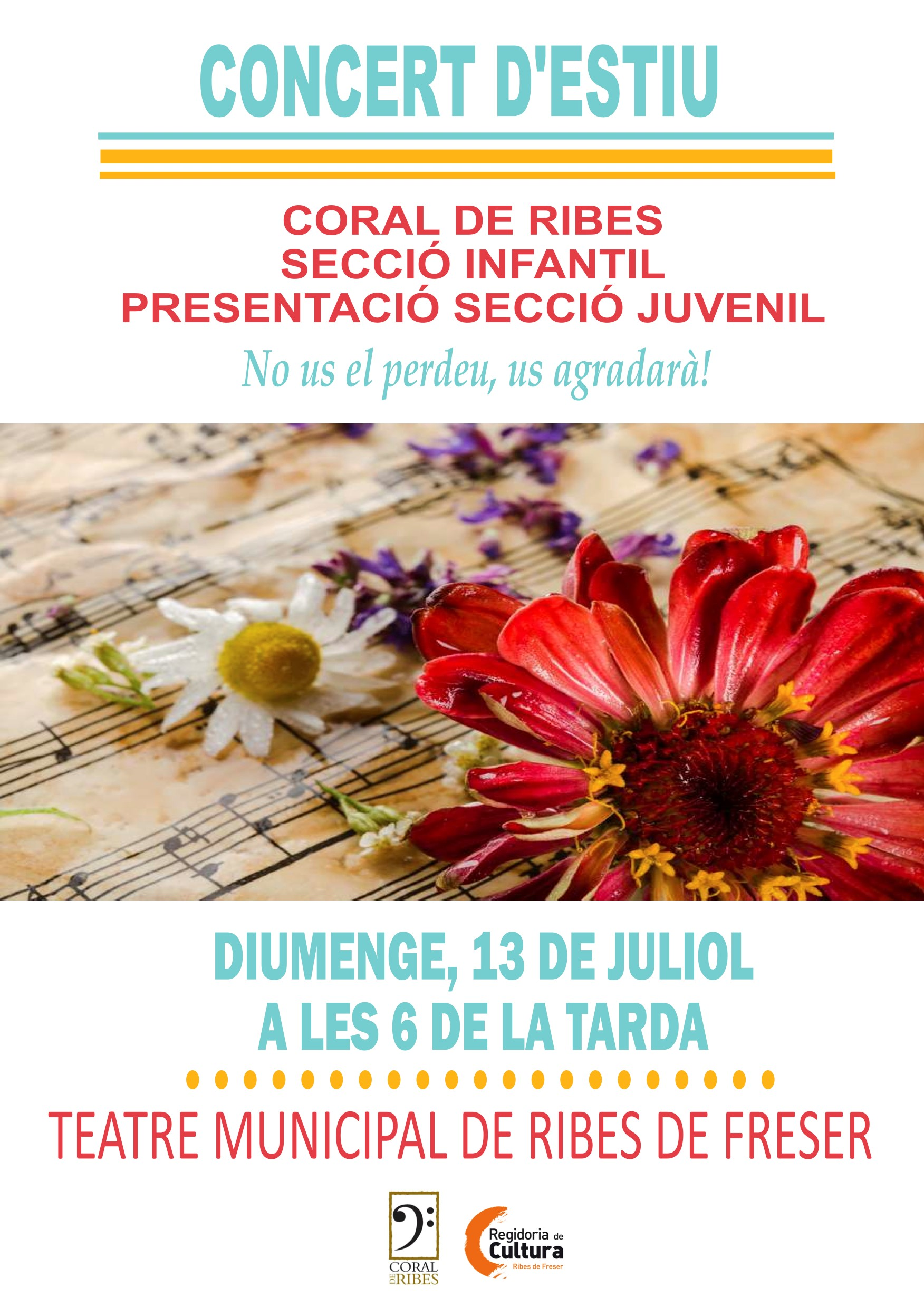 concert coral Ribes